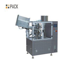 Przemysłowa maszyna do zamykania plastikowych tubek do kosmetyków