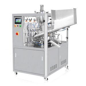 Ultradźwiękowa uszczelniająca maszyna do napełniania tubek kosmetycznych