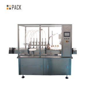 Maszyna do zamykania i etykietowania małych butelek o pojemności 30 ml