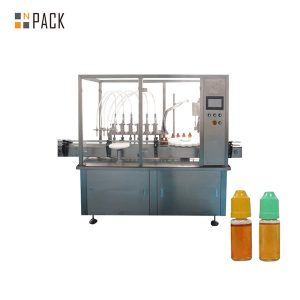 Maszyna do napełniania cieczy z pompą perystaltyczną do małej butelki fiolki
