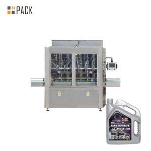 5-5000 ml Jednogłowicowa pneumatyczna tłokowa maszyna do napełniania miodem do napełniania pasty do butelki z płynem