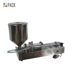 Bardzo popularna maszyna do napełniania lodów / maszyna do napełniania podwójnych głowic / maszyna do napełniania lakierów do paznokci